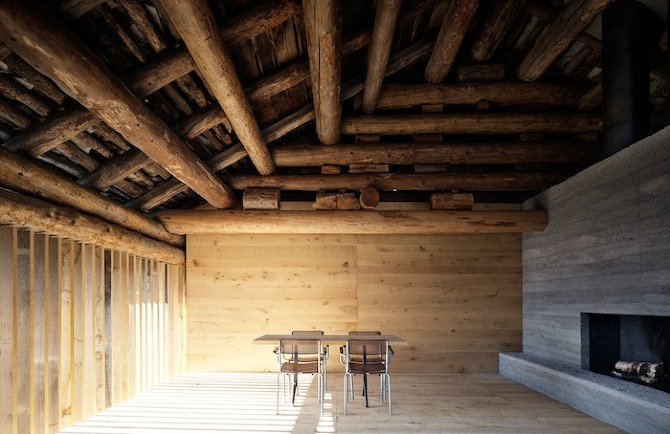 Redevelopment of a barn by Ruinelli Associati Architetti on thisispaper.com