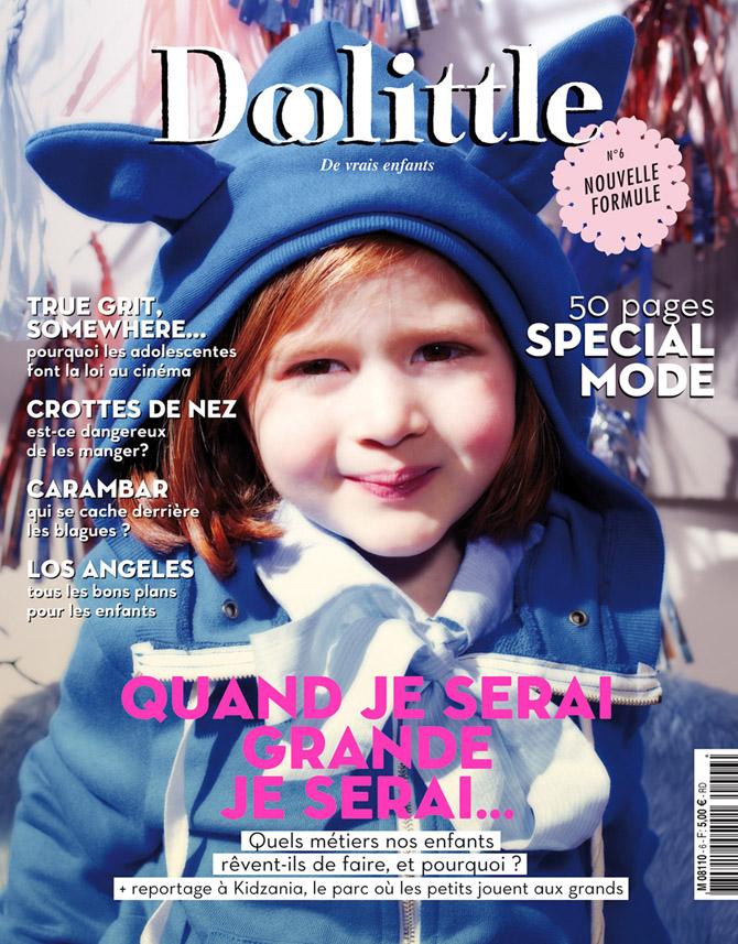 Collaboration sous la DA d'<b>Aline Diépois</b> & de Thomas Gizolme pour Doolittle <b>...</b> - couv